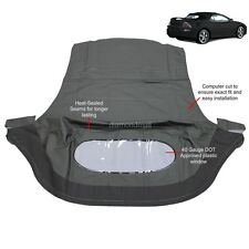 Mitsubishi Eclipse Spyder Convertible Top & Plastic Window 00-05 Black Sailcloth