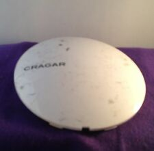 CRAGAR WHITE Wheel Center Cap Caps ONE (1)