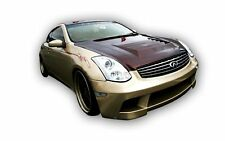for G35 Coupe 03-07 DM Style Poly Fiber Front bumper body kit front