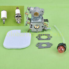 Carburetor with Primer Bulb For Poulan Craftsman Zama C1M-W26C 545070601