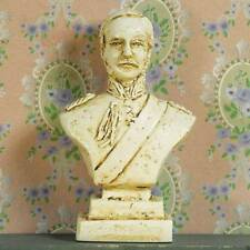 Bust of Prince Albert, Dolls House Miniature Sculpture. 1.12 Scale