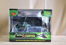 *Micro-X-Copter* Infrared Control micro-size Helicopter*New*(Green/Brown)