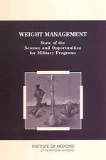 Weight Management: State of the Science and Opportunities for Military-ExLibrary