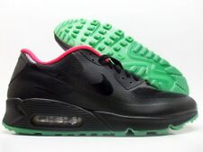 NIKE AIR MAX 90 HYPERFUSE PREMIUM ID BLACK/SOLAR RED SIZE MEN'S 11 [653603-991]