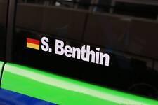 Namen Aufkleber Deutschland Rally DTM Renn Fahrer Sticker drift jdm  Racing cup