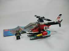 Lego City Set 7238 Fire Helicopter Complete w/ Instructions Excellent!  BX9