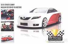 2010 RK Motors NASCAR Edition Toyota Camry info card
