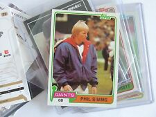 Phil Simms - 2nd Year Card - New York Giants - 1981 Topps #55 Near Mint