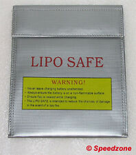 Lipo Safe Bag Charging Case Storage Battery Guard Fire Resistant 180mm * 230mm