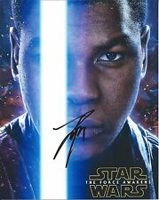 John Boyega autograph - signed star wars force awakens photo