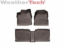 WeatherTech Floor Mats FloorLiner for Chevrolet Equinox - 2011-2017 - Cocoa