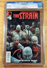 The Strain 1, CGC 9.6, graded NM+