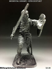 Tin soldiers 54 mm Medieval knight, 15th century