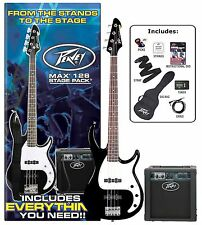Peavey MAX Bass Guitar Pack (Black)