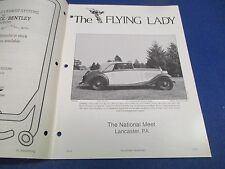 The Flying Lady Rolls-Royce Magazine Nov-Dec 1984, 1934 20/25, GWE56, Herrold