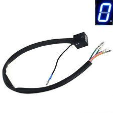 Blue LED Universal Motorcycle Digital Display Gear Indicator Индикатор передач