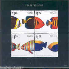 TUVALU 2013  FISH OF THE PACIFIC PART II   SHEET  MINT NH