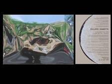 PHILIPPE RAMETTE - CARTON INVITATION EXPOSITION - 1995 - BRETIGNY
