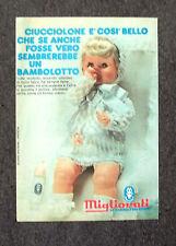 F284-Advertising Pubblicità- 1975 - CUCCIOLONE BAMBOLOTTO MIGLIORATI