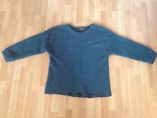 Ladies Topshop Dark Green Textured Bobble Knit Jumper - Size 10 **FREE P&P**