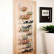 Over The Door 36 Pair Shoe Rack Organizer Hanging Holder Home Closet Storage