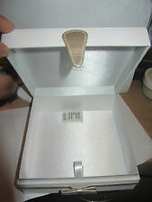 100% Genuine CDior Beauty White Jewelry Box / Vanity Case ~Limited Edition