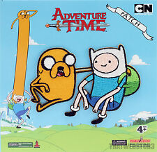 Adventure Time with Finn and Jake ~ Finn & Jake Iron On Patch ~ Licensed