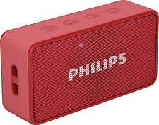 Philips BT64R/94 Portable Bluetooth Mobile/Tablet Speaker 9 Months Warranty