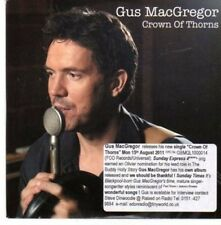 (CE113) Gus MacGregor, Crown of Thorns - 2011 DJ CD