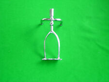 Chrome extended spider rest head for snooker
