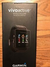 GARMIN vivoactive GPS SMARTWATCH FOR ACTIVE LIFESTYLE 010-01297-00 BRAND NEW