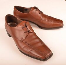 Ecco Womens Shoes Ecco New York Tie Oxford Brown Leather Lace Up EUR 39