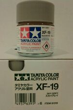 Tamiya acrylic paint XF-19 Sky Grey, 23ml.