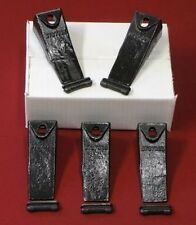 Bobcat Style 5 Pack-5-6737325 Dirt Digging Bucket Teeth/Tooth&5-6737326 FlexPins