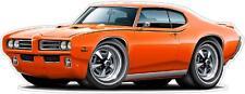 1969 Pontiac GTO Judge 400 Ram Air Wall Graphic Removable Vinyl Decal Home Decor