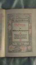 SHAKESPEARE - BOOKLOVERS EDITION - 1901 - 21 BOOKS FROM SET OF 40
