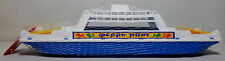 GREEK VTG APERGIS 70's PLASTIC 17'' FERRY BOAT SHIP WATER TOY FLOATS MIP RARE B