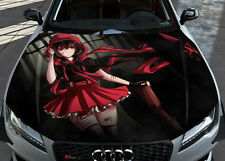 Ruby Rose Rwby Car Hood Wrap Full Color Vinyl Sticker Decal Fit Any Car