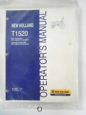 New Holland T1520 Tractor Operator's Owner's Manual Gear & HS 87473223 1/08