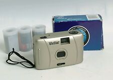 Vivitar ultra compact point and shoot 35mm film camera + 3 films street snap!