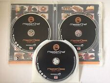 MASTERCHEF AUSTRALIA MASTER CLASS ~ 3 DISC AS NEW DVD ~ HUGE 403 MINUTES ~ PAL 4