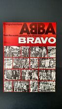 "ABBA ""FROM THE WORLDS GREATEST MAG.BRAVO"" RARE ORIGINAL PRINT PROMO POSTER AD"