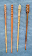 Handcrafted wooden hairsticks-single and double prongs-various wood available