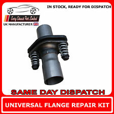 Universal repair replacement flange kit pour back box exhaust