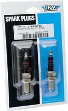 Drag Specialties Pair Spark Plugs f All Harley Twin Cam Models 99-17  #2103-0196