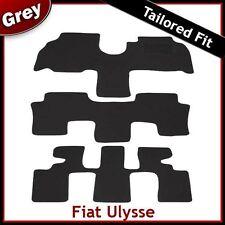 FIAT ULYSSE (2003 2004 2005 2006) su misura MONTATO Tappeti Tappetini AUTO GRIGIO