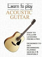 Learn To Play Acoustic Guitar with Expert & Easy Lessons for Beginners  DVD