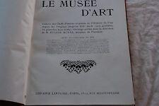 LE MUSEE D'ART GALERIE DES CHEFS D'OEUVRES ET PRECIS DE L HISTOIRE DE L'ART