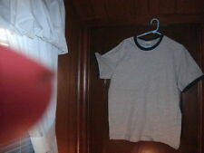 Timberland t-shirt short sleeve gray with navyblue ringer size XXL BRAND NEW