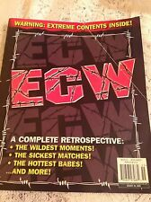WWE WWF MAGAZINE ECW A COMPLETE RETROSPECTIVE 2005 WRESTLING SPECIAL EDITION